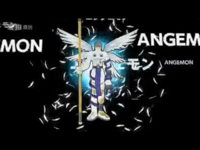 Eve手绘数码宝贝系列第七集-天使兽