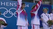 夺冠时刻,2004雅典奥运会女子双人十米台,李婷,劳丽诗夺冠