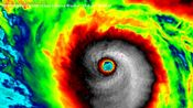 超强台风博罗依巅峰云图动画