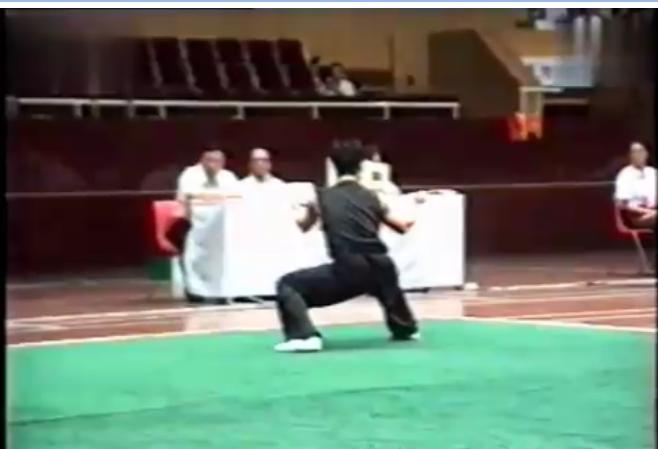 全国武术男子套路锦标赛竞赛项目025男子南拳