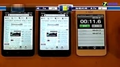 小米手机2S与小米手机2加载网页对比测试