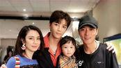 37岁张丹峰一家近照曝光,老婆年轻漂亮,女儿长相可爱
