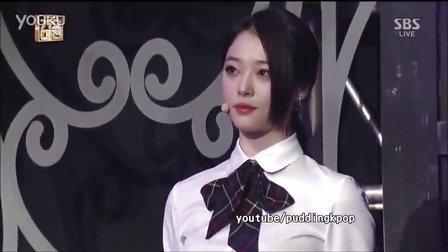 【A】[中字]131229 SBS歌谣大战. f(x) - shadow&初智齿 现场版