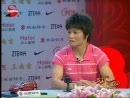 冼东妹冠军面对面 产后备战付出数倍艰辛