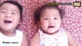 爱笑卖萌的双胞胎宝宝 4