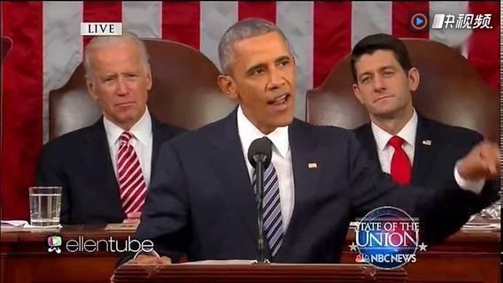 美国总统奥巴马任职最后一天演讲结束扔麦克风撒演讲稿 屌爆了