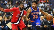 NBA-沃尔23+11罗斯27分 奇才119-112尼克斯