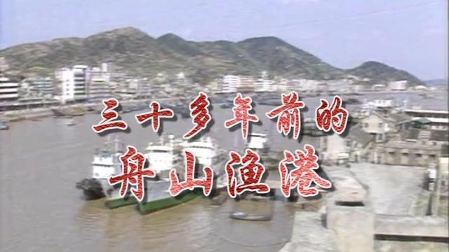 三十多年前的舟山渔港