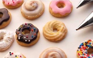 【杏乾兒搬运】教你制作迷你甜甜圈糖霜饼干~