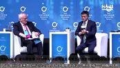 2019年11月8日马云乌克兰基辅国际经济论坛英语对话中字幕完全版