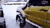 零下20多度启动路虎,接下来发动机的声音忍不住点赞!-汽车资讯-momo黑科技