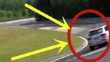 奥迪q7司机太膨胀,感觉专业赛道很简单,下秒但愿人没事!