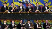 梅西第六次获得金球奖,六组金靴,六组金球,不愧是梅老六!