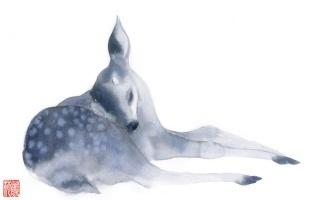 【隐世之国】水彩绘画视频第六弹——《午梦》