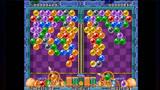泡泡龙:童年玩过的休闲游戏,把同色泡泡打到一起,泡泡就会消失