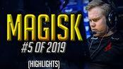 【CSGO】Magisk - INSANE PERFORMANCE - HLTV.org's #5 Of 2019 (CS:GO)