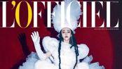 范冰冰成首位登俄罗斯时尚大刊,换美杜莎发型,演绎蛇蝎美人风格