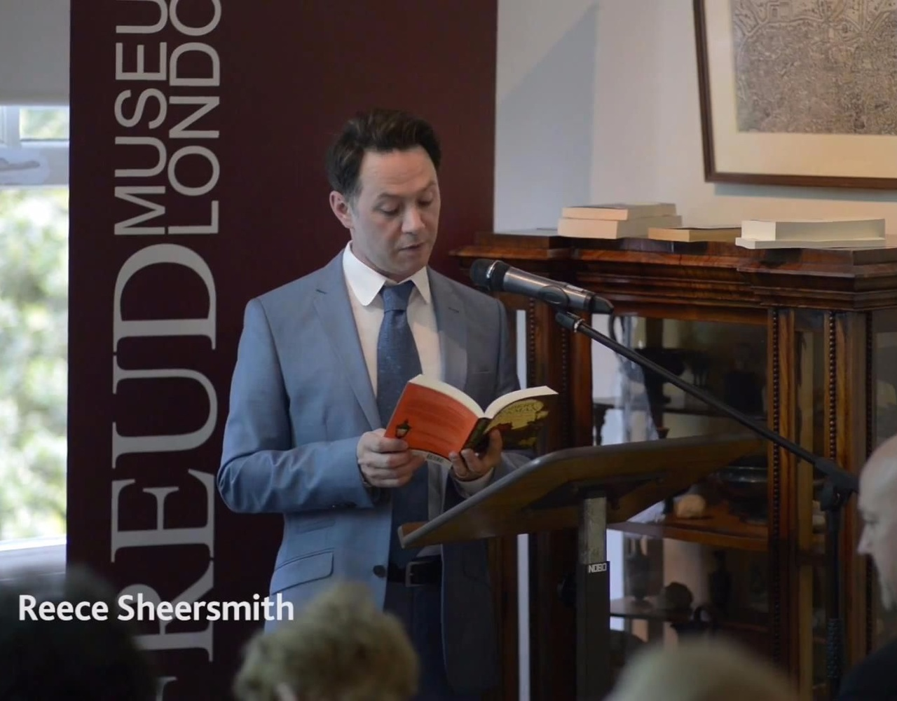 【Reece Shearsmith】【Jeremy Dyson】Robert Aickman at the Freud Museum