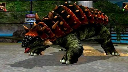 侏罗纪公园第130期:漂亮的彩鸡龙 恐龙公园 筱白解说.mp4