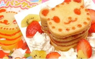 """【杏乾兒搬运】教你制作食玩小熊松饼~""""哇哇哇狂魔你怎么变成美少女了?!"""""""