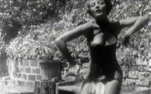 【vintage everyday】1951年Sheree North(谢瑞·诺斯)跳老虎舞