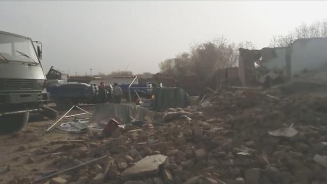 新疆博尔塔拉州精河县发生6.6级地震 震源深度11公里