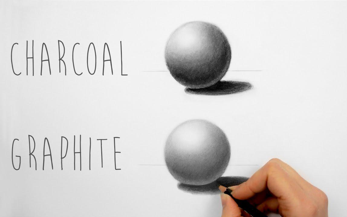 【绘画技巧】球体的光影渐变(彩铅/铅笔)