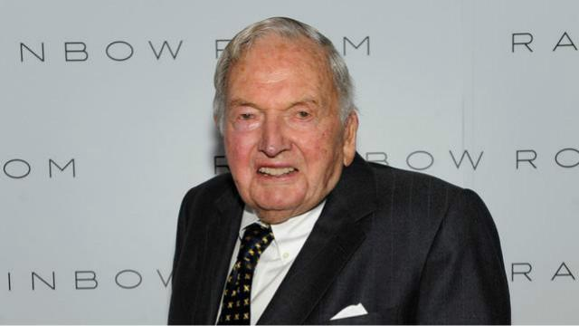 世界上最老的亿万富翁戴维·洛克菲勒去世 享年101岁