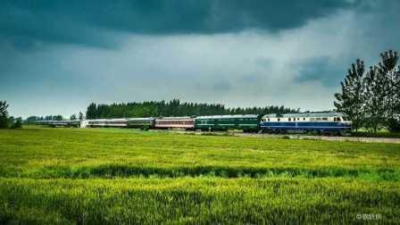 火车视频集锦:宁芜线64(音乐版清明雨上)