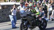 川崎Kawasaki Ninja H2R 征服曼岛TT