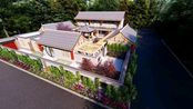 【农村自建房】25×23米中式合院,建成就是全村最美的房子!