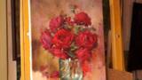 红色玫瑰花,它即美丽又带刺让人不得不喜欢
