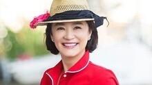 61岁林青霞红裙美哭朱茵