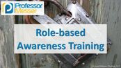 5.1.3-Role-based Awareness Training - CompTIA Security+ SY0-501 - 5.1
