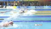 男子200米混合泳决赛,菲尔普斯以1分54秒23打破世界纪录