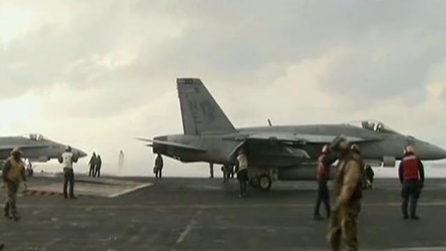 """局势升级?美航母战斗群 驶向朝鲜半岛附近:""""卡尔·文森""""号曾抵韩参加军演"""