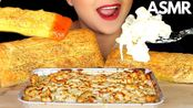 【hungry cakes】助眠必胜客奶油鸡阿尔弗雷多意大利面和面包棒吃的声音木桶不说话(2020年4月23日8时2分)