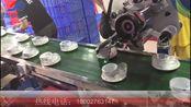 领越自动化全自动平面流水线贴标机