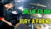 【1080p60fps】Billie Eilish - bury a friend Matt McGuire Drum Cover