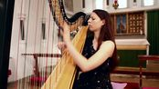 J.S. Bach - Toccata and Fugue in D Minor BWV 565 , Amy Turk, Harp