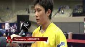 张本智和4:2淘汰马龙,赛后接受采访,听听他说了什么