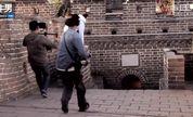 国外跑酷牛人中国长城炫技