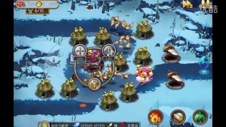 新部落守卫战24-4部兵过猎场地图