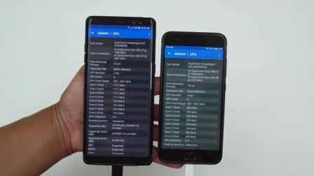 三星Note8软件启动速度对比小米手机6