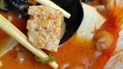 外卖18元的麻辣烫能吃到什么,口味不比杨国福张亮差,头次见这种超大桶