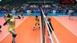 张常宁后排防守发挥出色,中国女排大胜比利时女排!