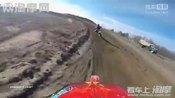 越野摩托比赛:2014农场越野赛道 泰勒的赛车实拍视频