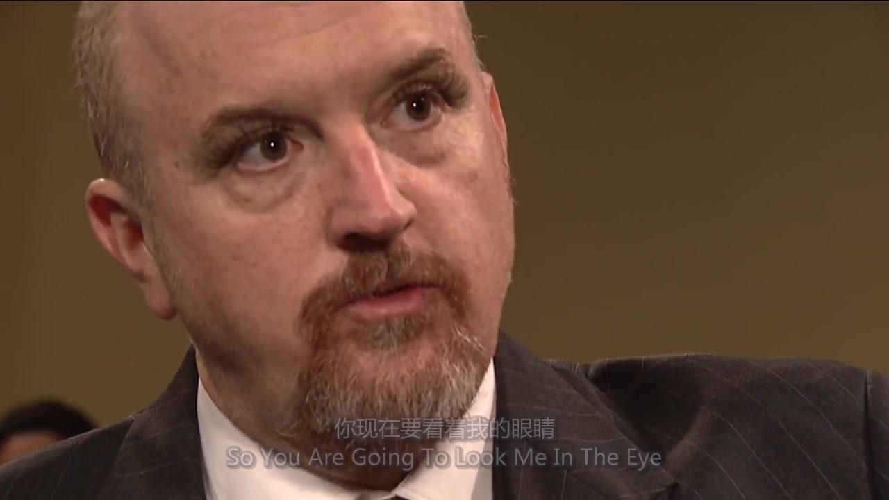 (中英双字)路易CK在SNL--<魅惑人心的睫毛>