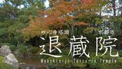 妙心寺塔头 退蔵院 京都市 Myoshin-ji Taizo-in Temple Kyoto Japan
