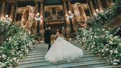 24Frames   婚礼电影 白墨水巴黎歌剧院婚礼
